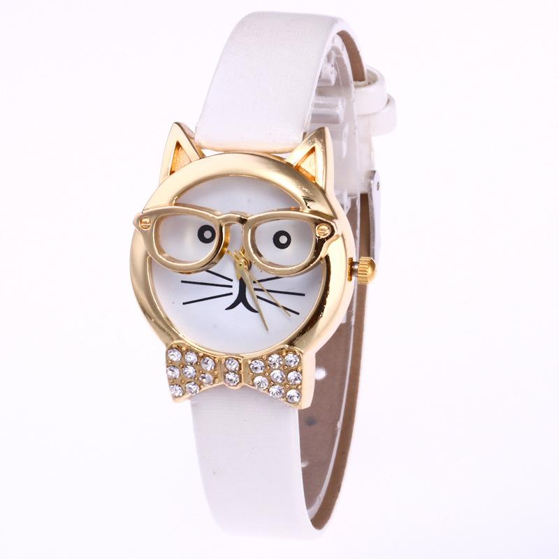 48225328e75 Compre Marca De Luxo Mulheres Crianças Bonito Óculos De Cara De Gato ...