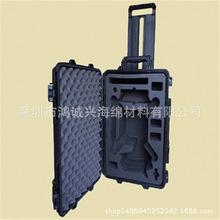 厂家专业定制雕刻EVA泡棉无人机包装盒、抗震EVA海绵包装箱内衬