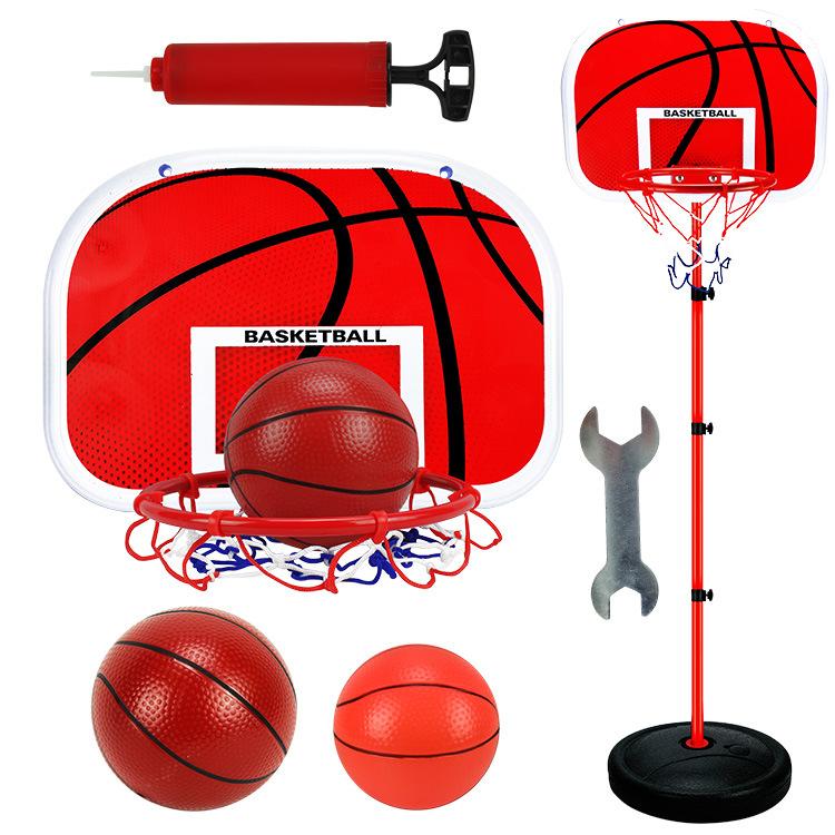 150CM篮球架户外室内运动铁杆篮球框投篮架儿童可升降篮球架批发