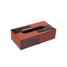 欧式PU皮革纸巾盒 车载牛皮抽纸盒 创意纯色纸巾盒车用纸巾盒