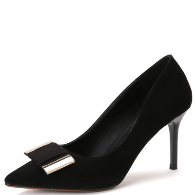 Scarpin shoes with metal buckles's main photo