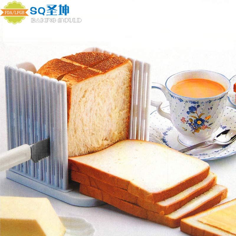 家用面包机切片架土司辅助器 面包切割器吐司分片器 DIY烘焙模具