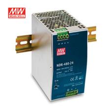 现货明纬电源NDR-480-24 工业导轨型480W 24V20A口罩机专用电源