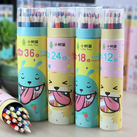 P305 nhỏ sapling văn phòng phẩm ống màu bút chì không độc gỗ hb màu chì học sinh sơn màu bút