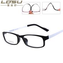 仿塑钢超轻时尚潮流近视眼镜框 ?#20449;?#40657;框眼镜平光镜厂家直销1305