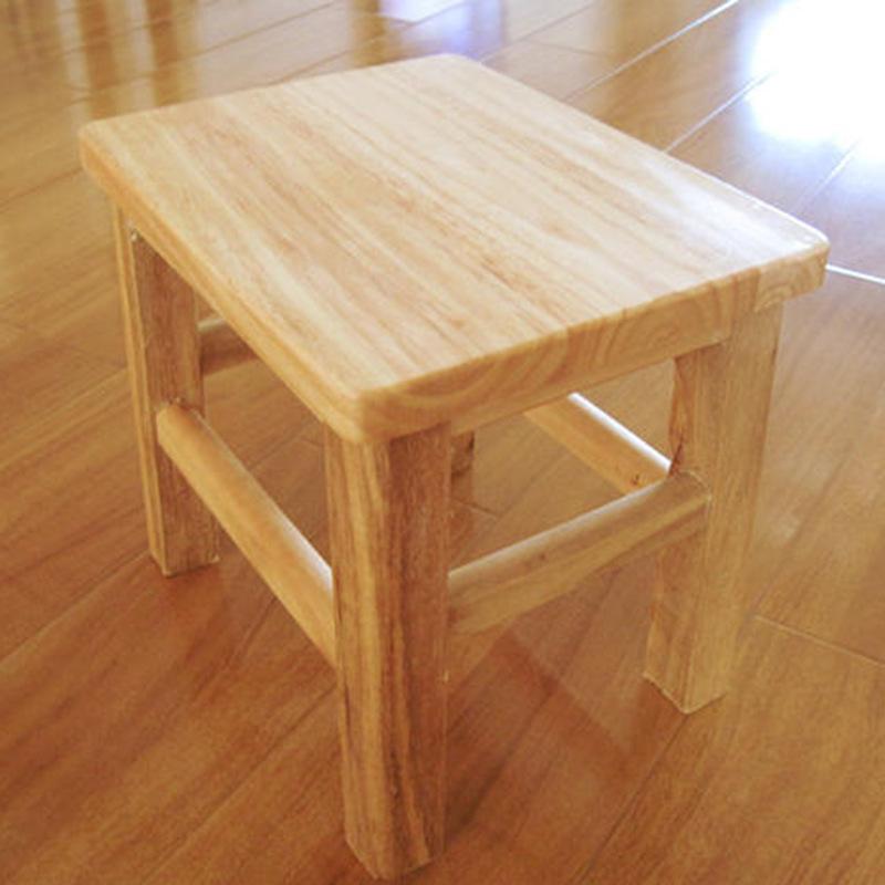 实木凳子 厂家批发定制方凳 儿童小板凳橡木矮凳小椅子