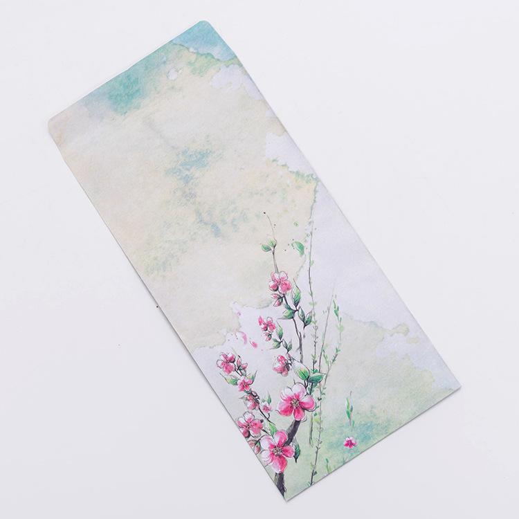 Thư tình lãng mạn giấy kraft cổ điển dày phong bì đẹp Trung Quốc phong cách truyền thống vần cổ truyền phong bì thư sinh viên tình yêu lưu trữ thư