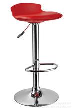 厂家直销高脚凳PP塑料坐PU皮质软坐垫升降椅酒吧椅吧台椅现代时尚