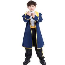 2018新款 兒童王子服男童親子萬聖節COS服 歐美動漫角色扮演服裝