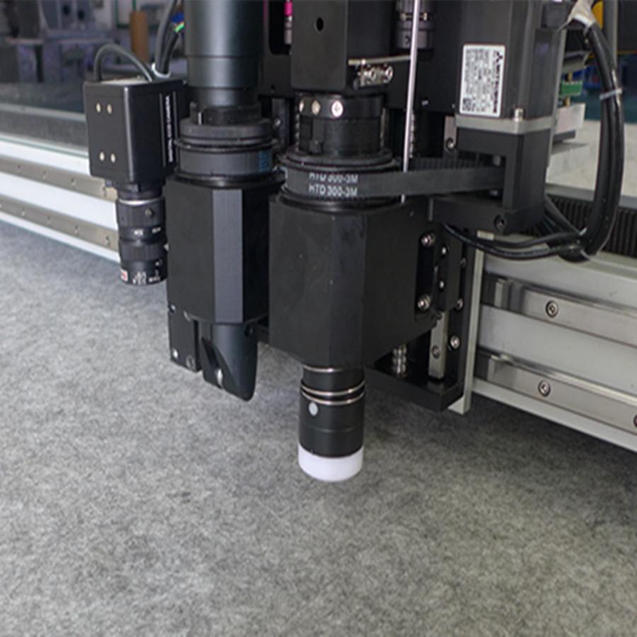 厂家供地毯地垫振动刀2025切割机  软玻璃PVC震动刀切割机