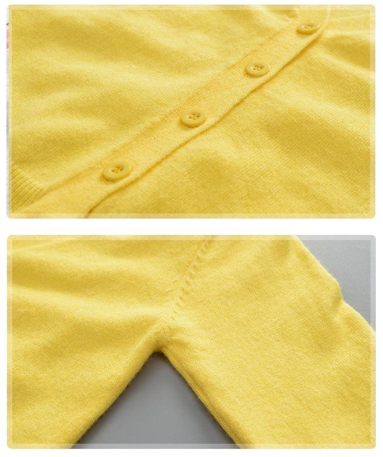 童装秋季韩版新款中小男童毛线针织开衫外套儿童毛衣