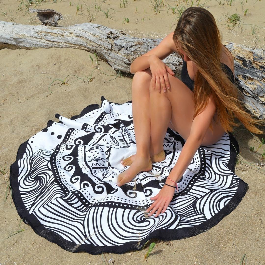 Polyester Fashiondress(Dandelion pattern) NHXW0097-Dandelion pattern