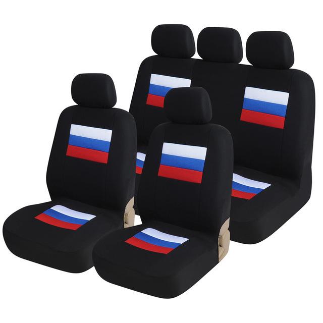 速卖通wish汽车通用座椅套三明治坐垫外贸5座9件套汽车用品ebay