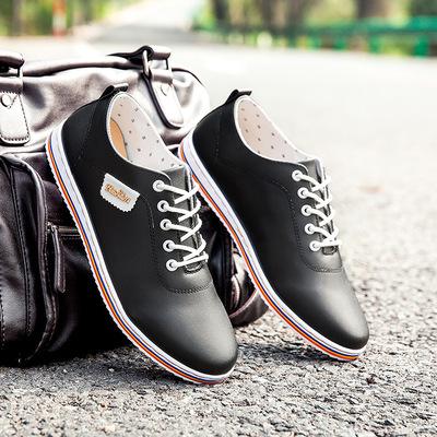 2017 mùa xuân giày thể thao giày thủy triều của nam giới thường giày thời trang Hàn Quốc giày thường Peas giày giày thủy triều của nam giới