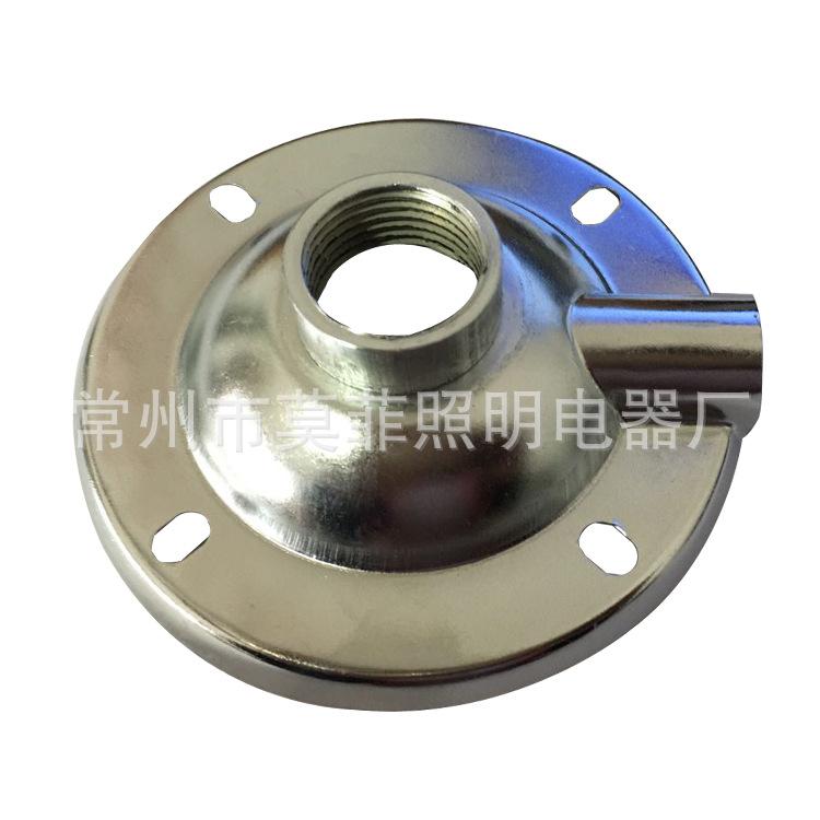 加厚4分G1/2满焊铁吸盘   LED工厂灯  工矿灯铁吸盘  灯具配件