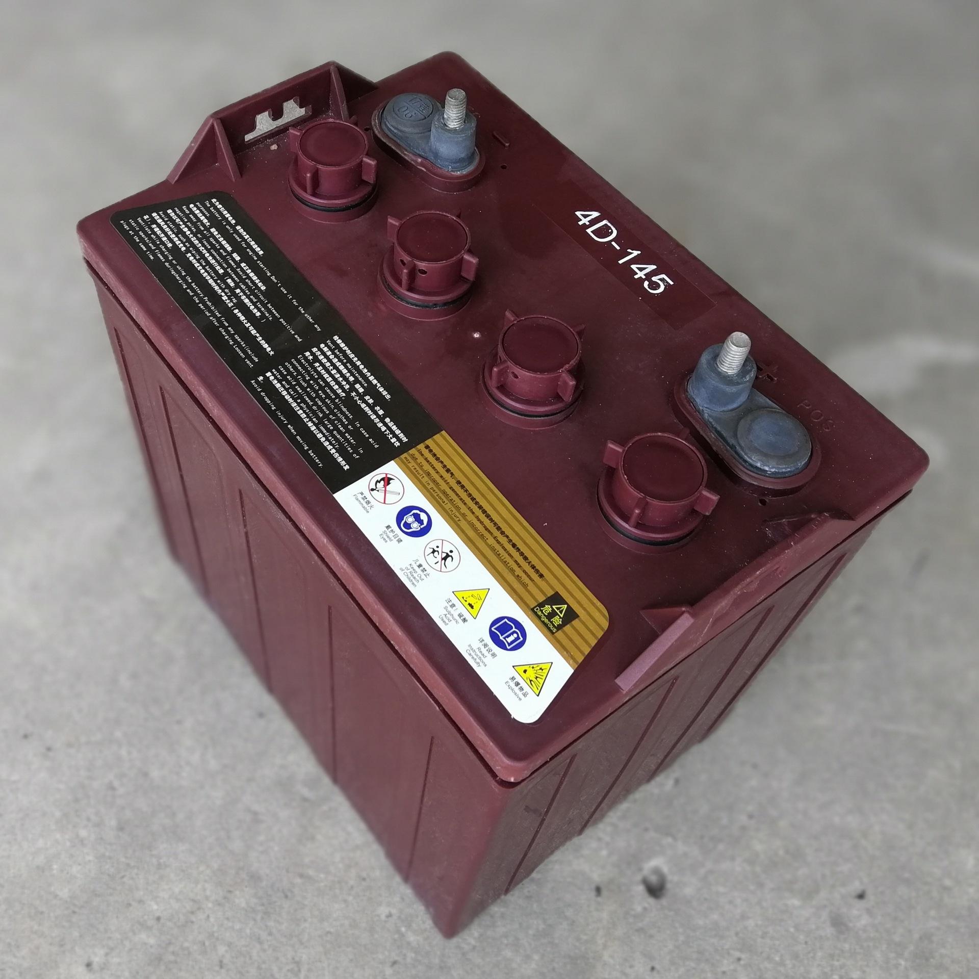 供应8V电瓶高尔夫电瓶游览车电瓶4D-145电瓶8V145Ah铅酸蓄电池