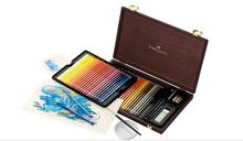 Germany Faber-Castell Faber-Castell wooden box artist water-soluble color pencil water soluble color lead 120 color