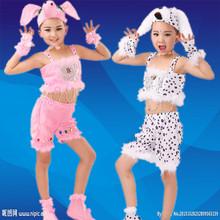 儿童小猪表演服小狗舞蹈服动物造型服装幼儿园演出服