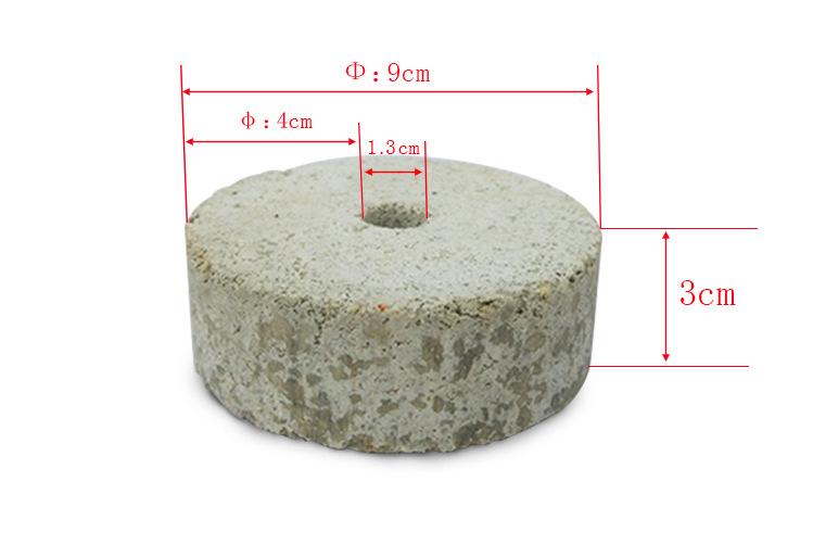 正信鸿达圆形水泥垫块规格参数
