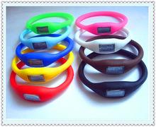 负离子手表 硅胶运动手表 糖果色 手表批发 防水学生手表
