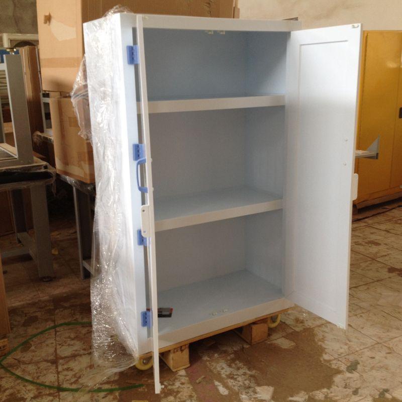 生产实验室危化品储存柜PP酸碱柜工业学校防腐蚀化学品PP储存柜