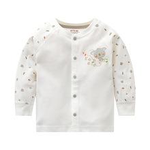2018秋季新款童套装棉质婴儿衣服韩版卡通婴幼儿家居服套装 厂家