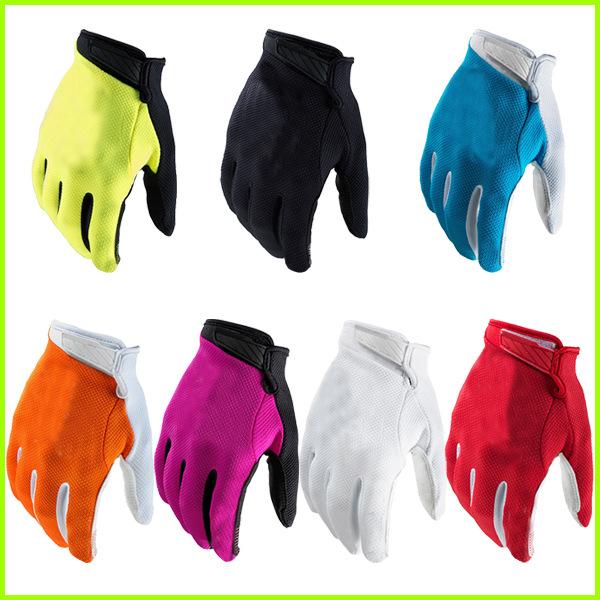 (T7色)骑行手套骑士越野摩托车赛车山地自行车手套装备防滑运动