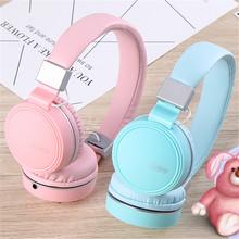 厂家直销头戴式折叠耳机学生户外运动跑步耳麦重低音游戏音乐耳机