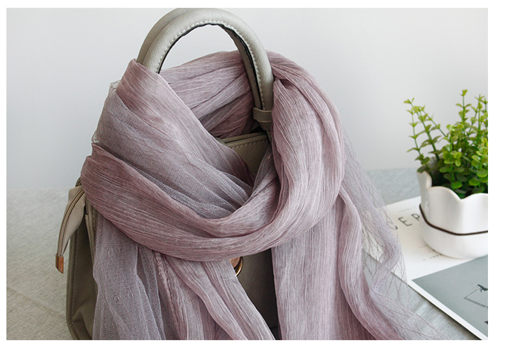 Occidentan root yarnscarf (Pink -180X75cm)NHNBS1769-Pink -180X75cm