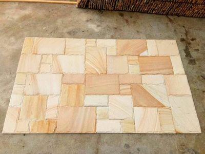 米黄色砂岩墙砖