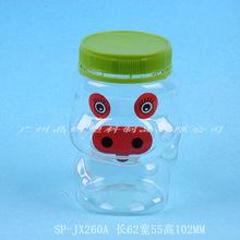 厂家供应食品瓶pet透明卡通糖果密封储物瓶款式多样式齐全