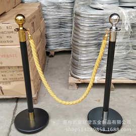 直销豪华不锈钢栏杆座挂绳迎宾柱礼宾杆隔离带排队柱防撞栏警戒线