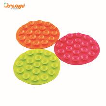 橙氏良品双面吸盘式防滑垫 餐具吸盘防滑餐垫杯垫 杯底碗底吸力垫