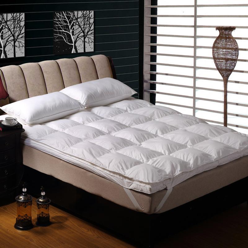 酒店加厚防滑双层立体羽绒透气床垫 榻榻米床褥单双人宿舍床垫子