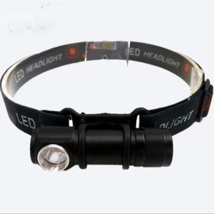 新款铝合金强光照明小手电 户外应急多用头灯电筒 带USB 带磁铁