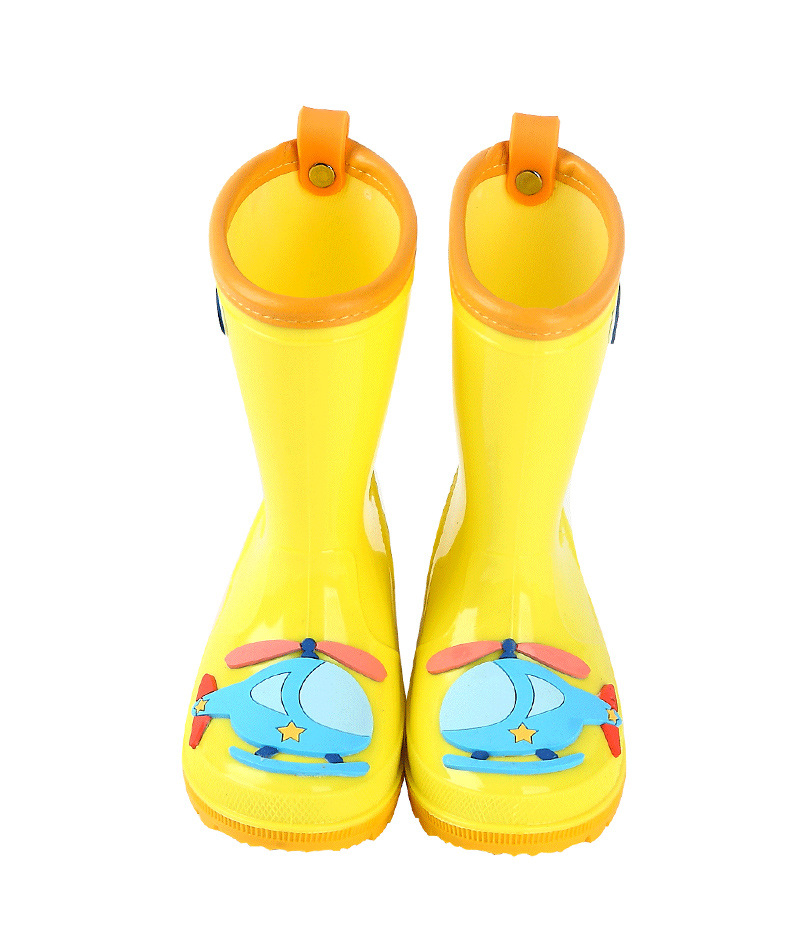 Toddler/Little Kids' Cute Rain Boots for Boys and Girls —— Waterproof,Non-slip,Four seasons,4 Colors 16