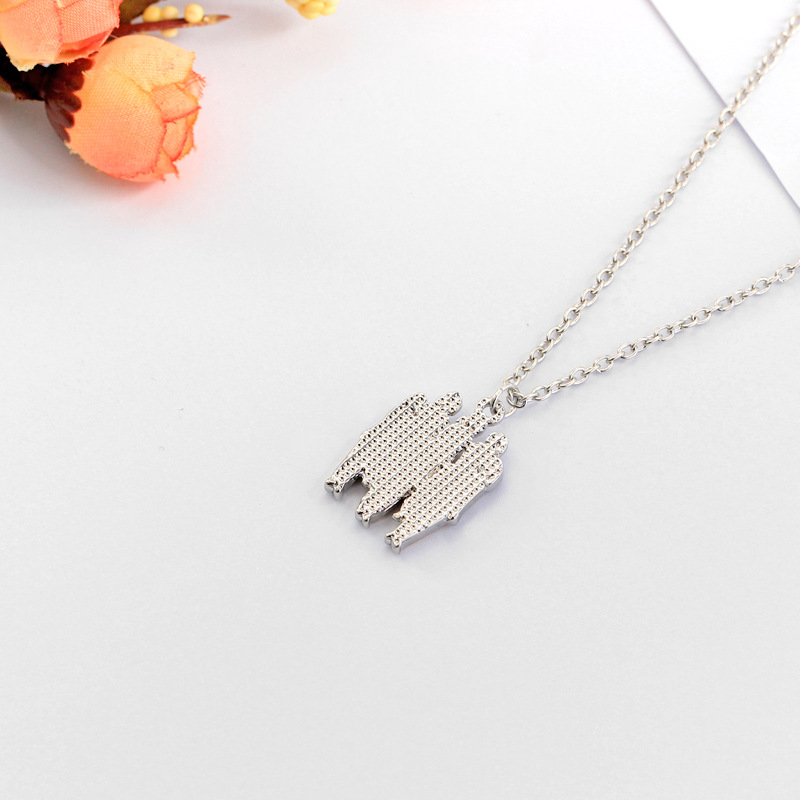Fashion Alloy plating necklace Geometric (XL1782)NHAT0116-XL1782