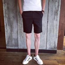 夏装爆款男士短裤 时尚潮男纯色休闲运动裤 男五分裤休闲裤