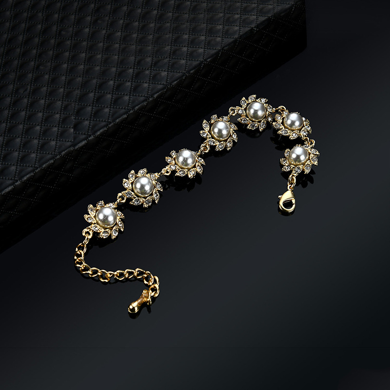 Occident and the United States alloy Diamond Bracelet (61176288)NHLP0819-61176288