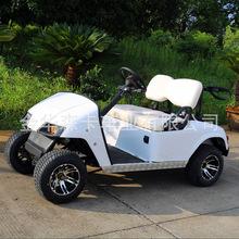 電動四輪2座高爾夫球車旅游觀光車看房車保安巡邏車學校接送車
