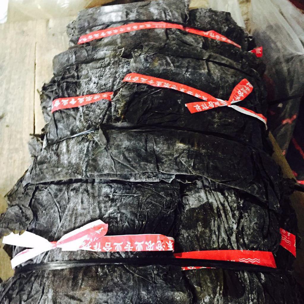 福建霞浦原产地直发海带干货30公分宽叶干净无沙海带片全青晒渔排