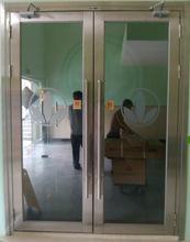 厂家定制餐厅防火门304不锈钢玻璃门一门一证确保消防验收合格