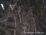 供应上海地区国产深啡网大理石小区电梯门套大理石深啡网价格多少