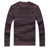 2017 - winter sweater knitting yarn individuality young men thick line thickening sweater on behalf of foreign trade