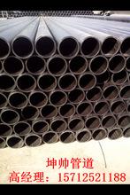 厂家生产供应 优质自来水管黑色DN25*1.6给水管 塑料优质管材