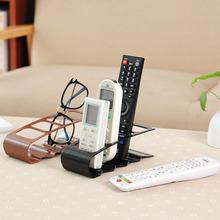 韓版創意四格遙控器收納架收納盒塑料桌面置物架收納座100