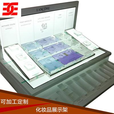 深圳批发化妆品展架 水晶化妆品展架 增联亚克力制品厂家直销