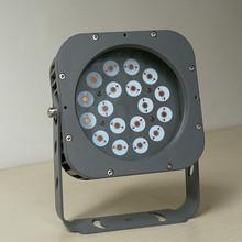 18W 24W新款圓形LED投光燈外殼 戶外燈外殼 防水投光燈外殼套件