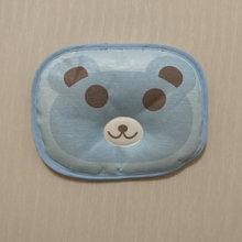 婴儿卡通凉枕 夏天宝宝冰丝可拆枕头 儿童亚麻草茶叶席枕  批发