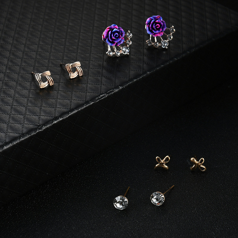 Occident and the United States alloy Diamond Jewelry Set (61178092)NHXS1456-61178092
